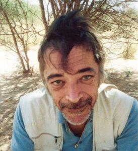 Jean-Claude Correia, le 5 janvier 2004, après quinze jours de marche dans l'Aïr et le Ténéré.