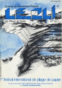 Couverture du Pli n°11 (1982)