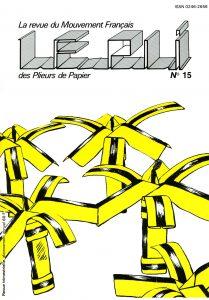 Couverture du Pli n°15 (1983)