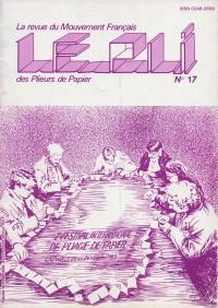 Couverture du Pli n°17 (1983)