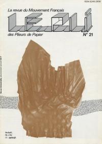 Couverture du Pli n°21 (1984)
