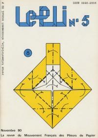 Couverture du Pli n°5 (1980)