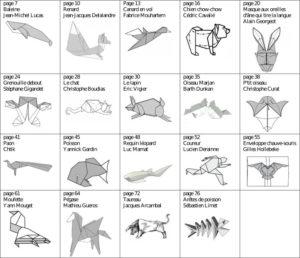 Origami du vivant mouvement fran ais des plieurs de papier - Origami grenouille sauteuse pdf ...
