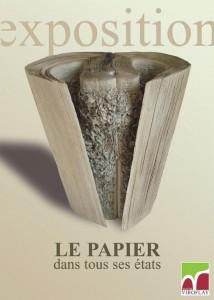 Le papier dans tous ses états, exposition à Viroflay, janvier 2014