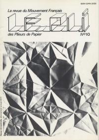 Couverture du Pli n°10 (1982)