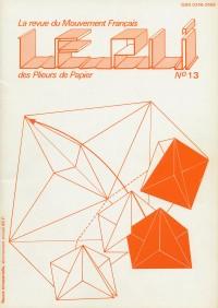 Couverture du Pli n°13 (1982)