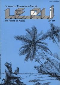 Couverture du Pli n°19 (1984)