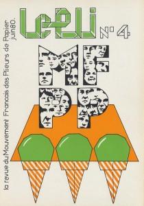 Couverture du Pli n°4 (1980)