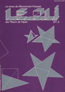 Couverture du Pli n°9 (1981)