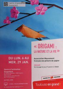 Affiche de l'exposition La Nature et la vie